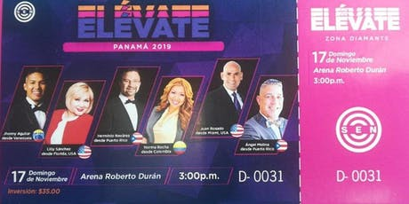ELEVATE Panamá 2.019 un evento UNICO tickets