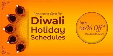 DIWALI Holiday Courses tickets
