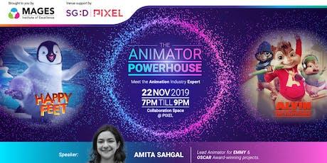 Animator Power House tickets
