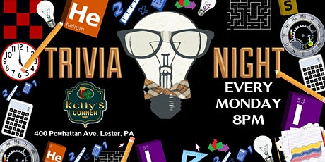 Monday Trivia at Kelly's Corner (Delaware County, PA) tickets