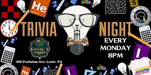 Monday Trivia at Kelly's Corner (Delaware County, PA)