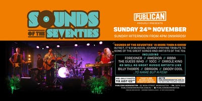 Sounds of the Seventies LIVE at Publican, Mornington!