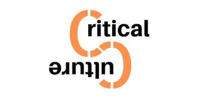 Critical Culture LAUNCESTON Launch