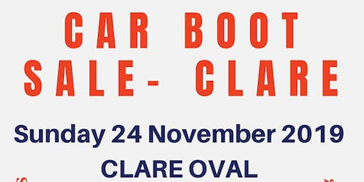 Clare SES Car Boot Sale