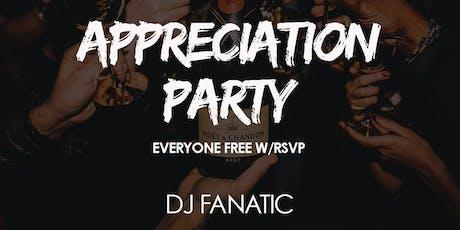 Copy of Play Friday - Appreciation Party tickets