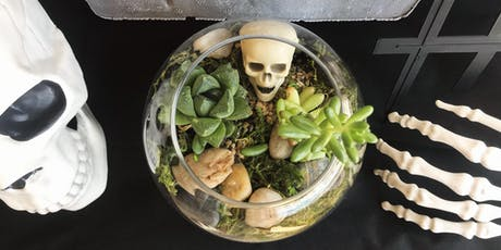 Spooky Terrarium + Candle Making Class tickets
