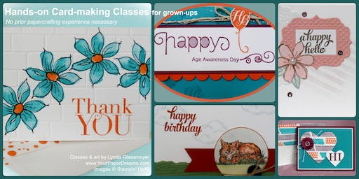 Monthly Card-Making Class - 10/22/2019 - Morning