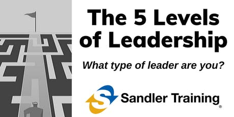 The 5 Levels of Leadership (Management Training) tickets