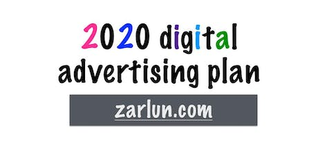 2020 Digital Advertising PLAN LIVE Irving EB tickets