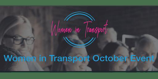 Women in Transport Networking Event -23 October 2019