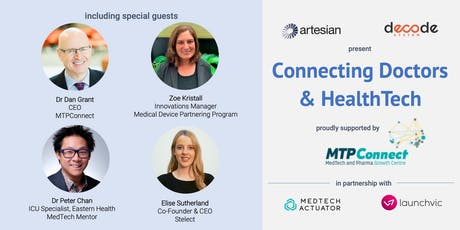 Connecting Doctors & HealthTech tickets