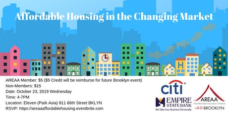 Affordable Housing in the Changing Market tickets