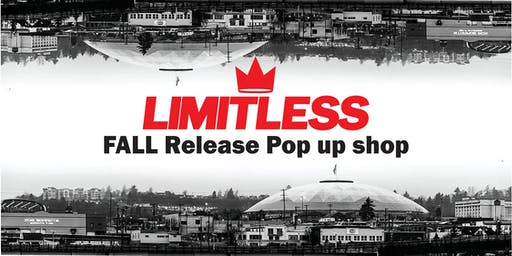 Limitless Apparel  Fall Collection release & Pop up shop