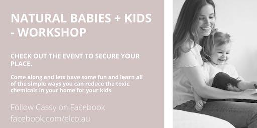 Natural Babies & Kids - workshop