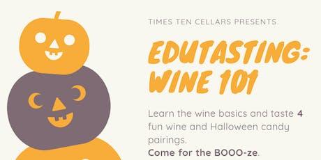 Edutasting: Wine 101 tickets