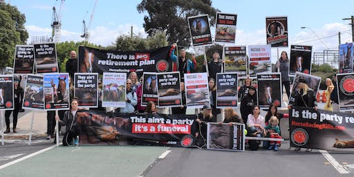 Protest at the Caulfield Cup
