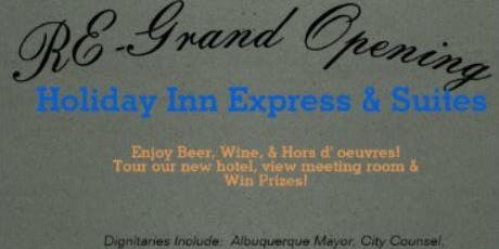 Holiday Inn Express Hotel Re-Grand Complimentary Food, Beer & Wine,Raffles