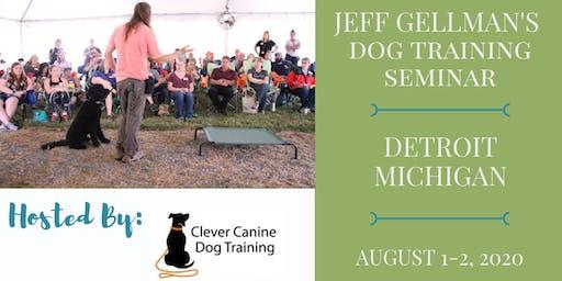 Detroit, Michigan- Jeff Gellman's Dog Training Seminar