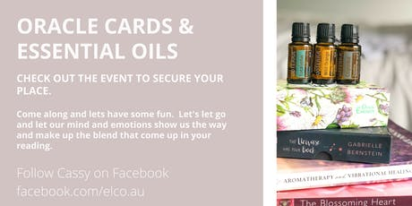 Oracle Cards & Essential Oils In Person Workshop tickets