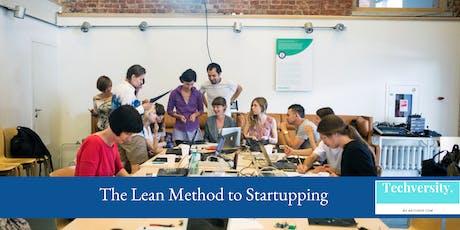 MINDSHOP™| a Deep Dive on Lean Startup Tactics billets