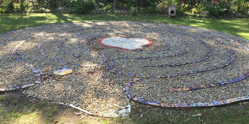 Labyrinth walk for peace