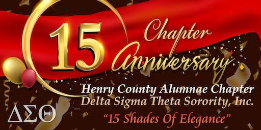 15th Chapter Anniversary Gala