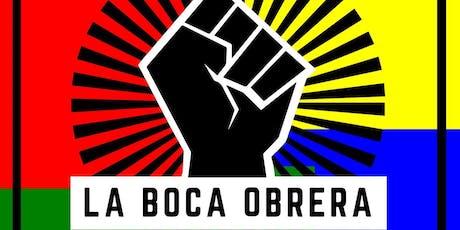 """Tour a la gorra """"La Boca Obrera & Colectiva: Inmigración, arte y fútbol""""  entradas"""