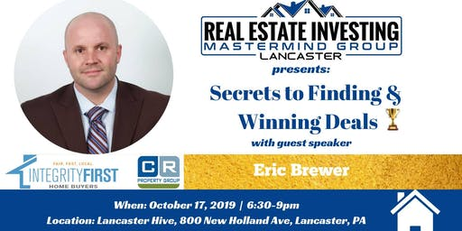 Secrets to Finding & Winning Deals!