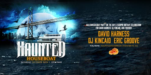 Haunted Houseboat ~ Halloween Party Cruise on the Bay!