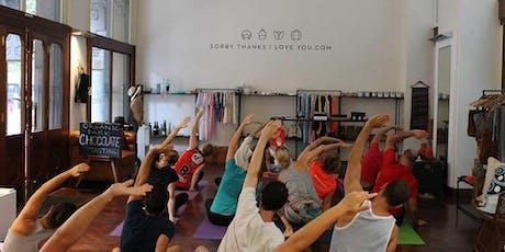 Wednesday Night Yoga By Donation in Sydney CBD tickets