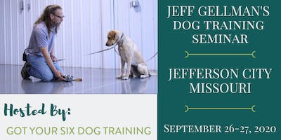 Jefferson City, Missouri- Jeff Gellman's Dog Training Seminar
