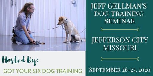 Jefferson City, Missouri- Jeff Gellman's Dog Training Seminar
