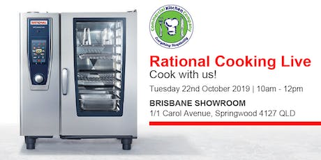 FREE Rational Cooking Live Demonstration tickets