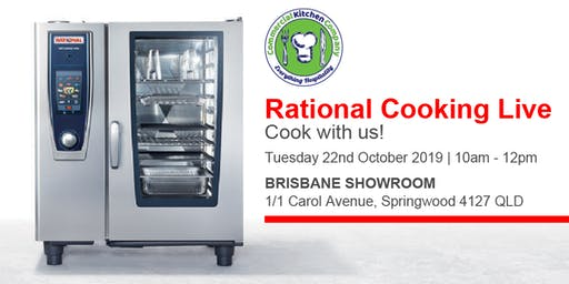 FREE Rational Cooking Live Demonstration