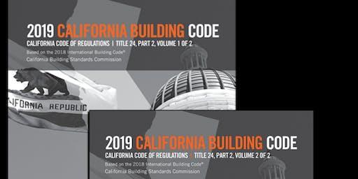 2019 California Building Code Update