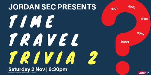 Time Travel Trivia Night
