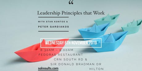 Breakfast at the Next Level | Leadership Principles that Work tickets