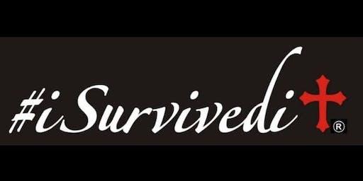 """2nd Annual #iSURVIVEDIT Teleconference """"No Longer Ashamed"""""""