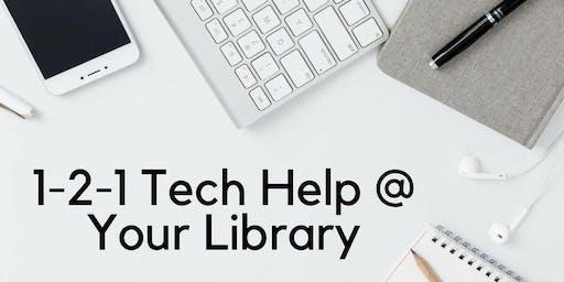 1-2-1 Tech Help at Kurri Kurri Library
