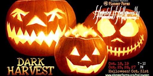 Dark Harvest Haunted Halloween Trails at Jourdan-Bachman Pioneer Farms