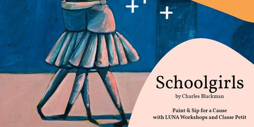 Paint & Sip for a Cause with LUNA Workshop