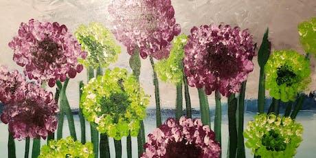 Allium Spring Memories Paint and Snack Night tickets