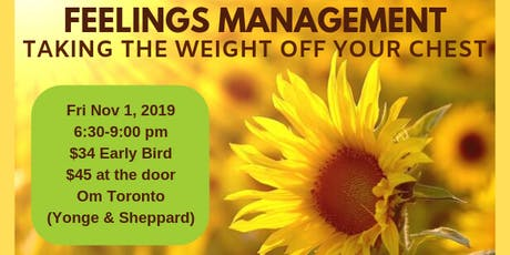 Feelings Management Workshop tickets