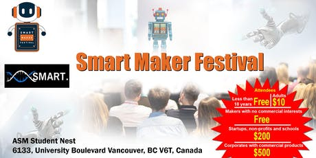 Smart Maker Festival tickets