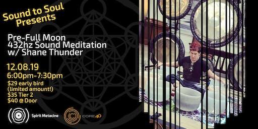 Sound to Soul Presents: 432hz Spirit Metacine Sound Meditation