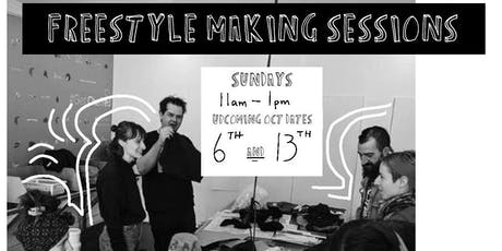 FREESTYLE MAKING SESSIONS 3 tickets