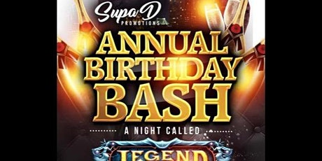 Supa Ds Legends Are Born In December tickets