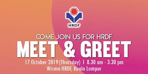 HRDF MEET & GREET