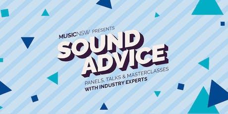 SOUND ADVICE Music Money Masterclass tickets