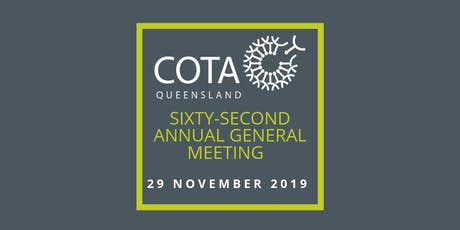 Council on the Ageing Ltd Sixty-Second Annual General Meeting tickets